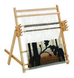 Tapestry Loom Wiesensalat Spinnen Und Weben