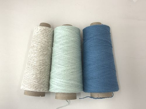 Overshot Rigid Heddle Towels Kit - Denim, Frost, Marble