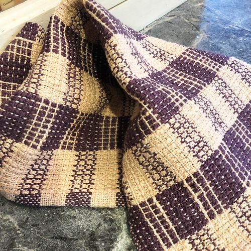 Overshot Rigid Heddle Towels - Anleitung